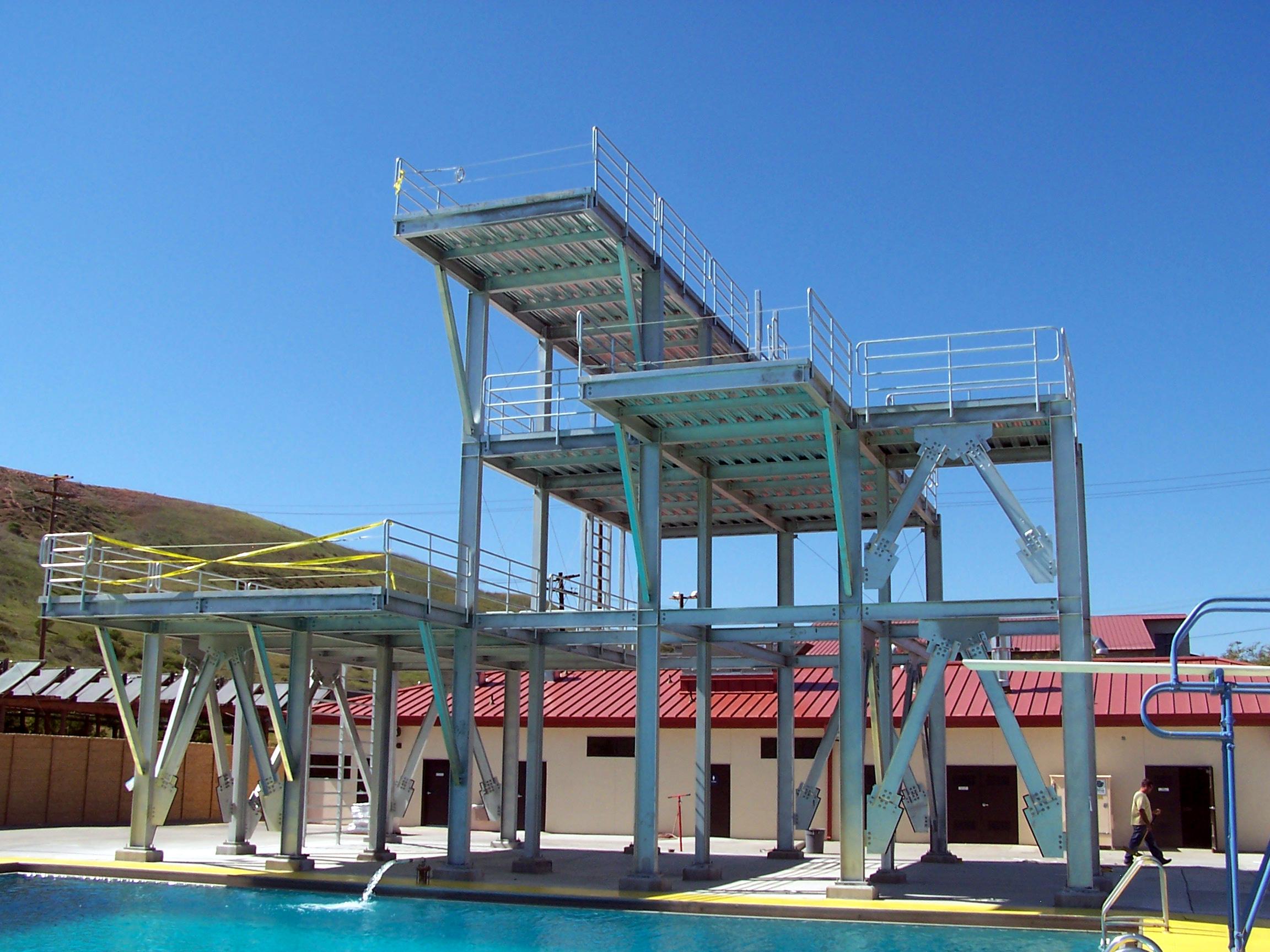 Dive Tank Platform, Camp Pendleton, CA