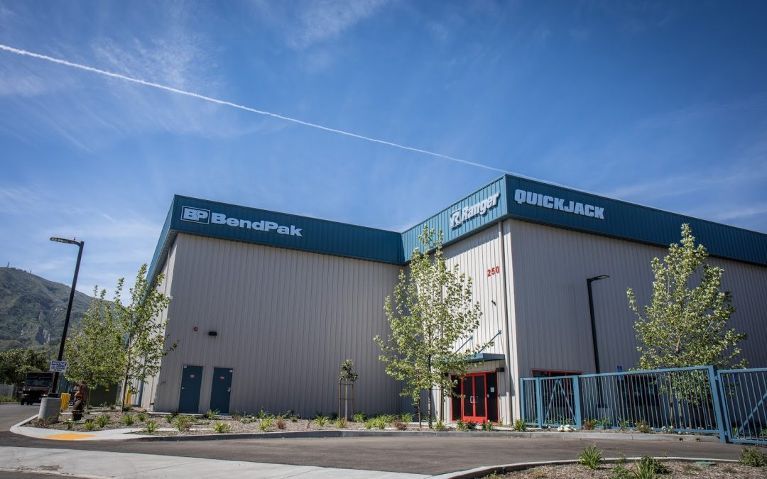 70,000 sq. ft. Warehouse and Shipping Center for BendPak