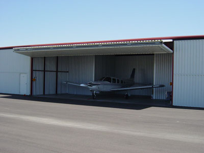 Bi-Fold Aviation Hangar Door