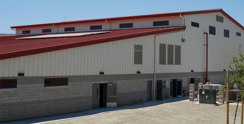 Steel Buildings 3D Printed Architectural Model Fire Station