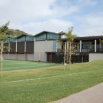 Pre-Engineered Metal Buildings - Pacific Ridge School - Outside Building View - Far