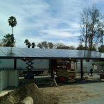 Solar Carports - California Solar Systems - Top View