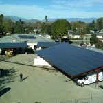 Solar Carports - California Solar Systems - View From Above