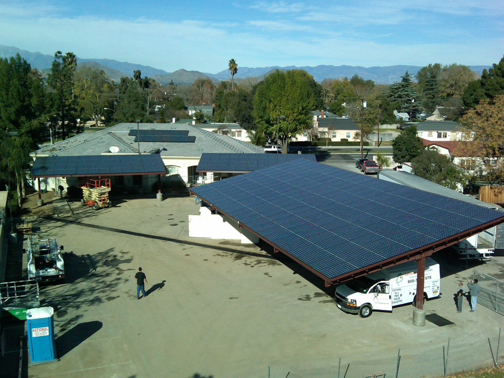 Steel Carports & Solar Structures