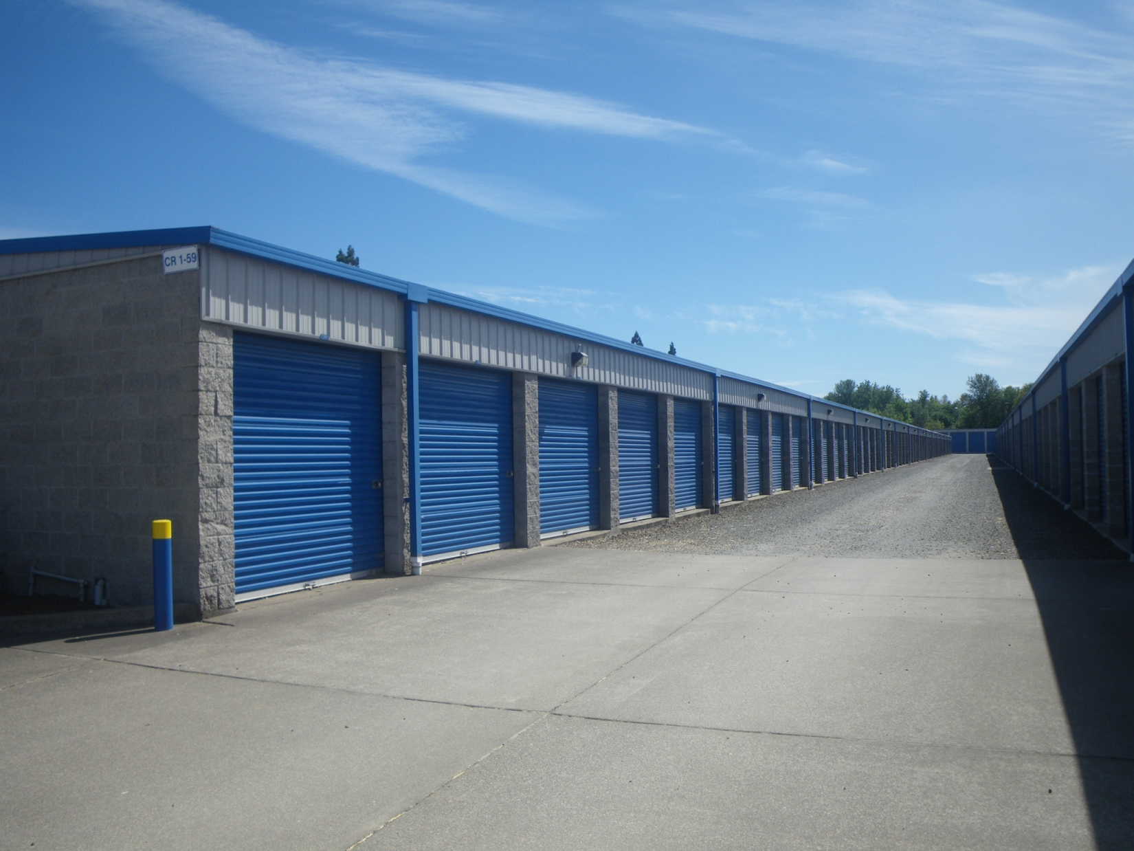 How Much Are Steel Garages : Self storage buildings pascal steel