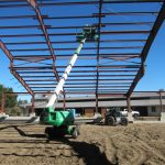 Pre-Engineered Metal Buildings - Fitness Center - Under Construction