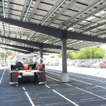 Solar Canopy - Apple Valley - Under
