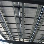 Solar Canopy - Apple Valley - Close Up