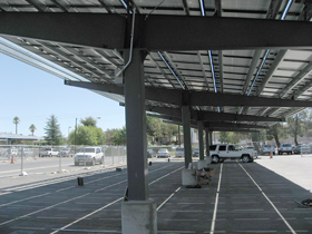 Pascal Steel's Design/Build Solar Carport Structures