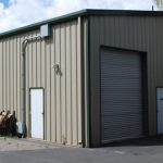 Pre-Engineered Steel Builidng - Garage Structure