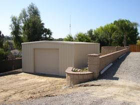 Steel Building Personal Garage