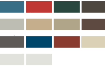 Steel Buildings Color Charts & Thickness Choices