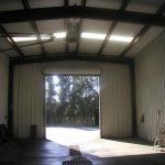 Metal Storage Buildings & Garages - Inside