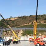 Custom Steel Structures - Pacific Ridge School - Cranes