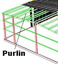 Purlin Drawing From Pascal Steel Buildings