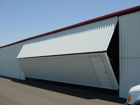 Steel Hangar Building
