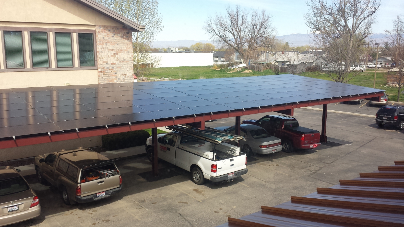 Solar Carport in Idaho