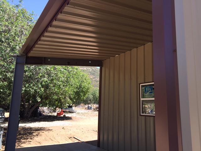 Pre Engineered Garage Spring Valley Pascal Steel Buildings