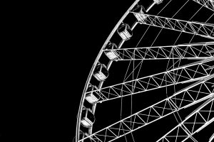 Ferris wheels? More like ferrous wheels. Steel stays durable in the most extreme circumstances.