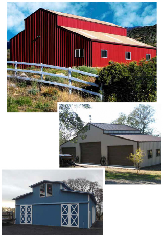 American Barn Buildings from SimplyTough Metal Buildings