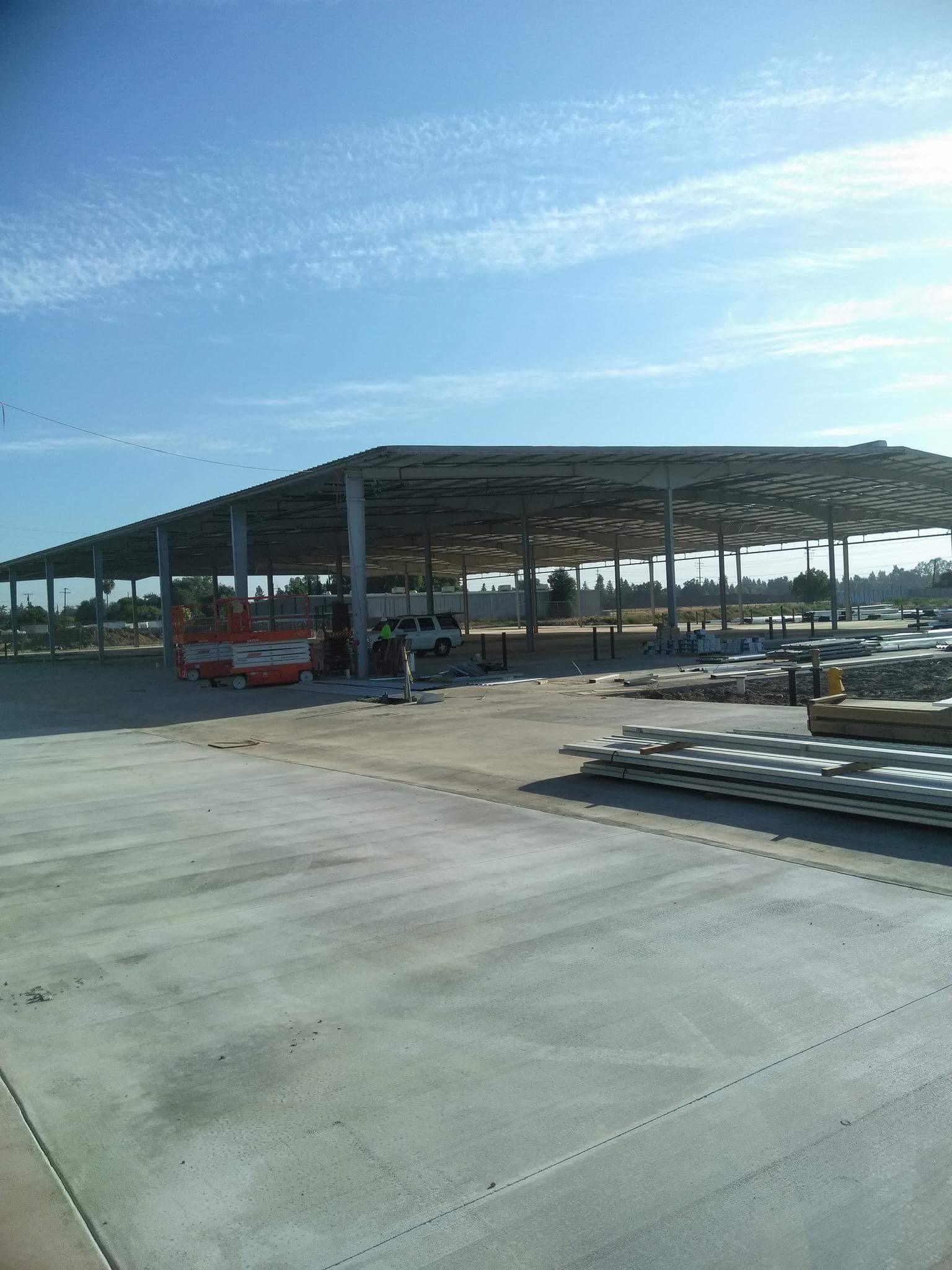 RV Storage & Self-Storage Building Conversion in Visalia, CA (IN PROGRESS)
