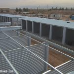 This showcases our durable steel structures at their core.