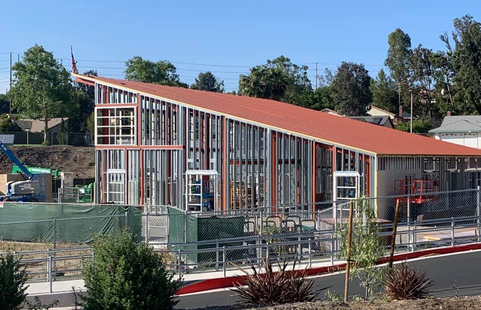 5,400 sq foot elementary school building