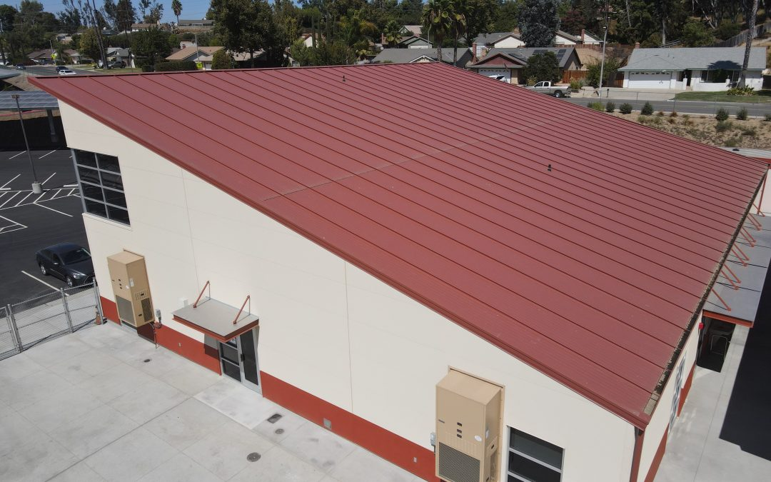 Vail Elementary School – CUUBE Pre-Engineered Super Structure