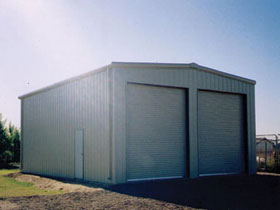 Personal Garage - Steel Building